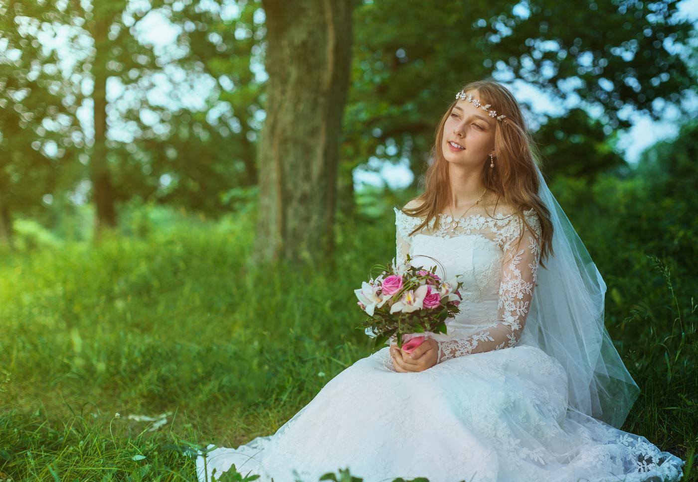Фото невест в деревне, Свадьба без гламура и пафоса. Фото деревенской свадьбы 3 фотография